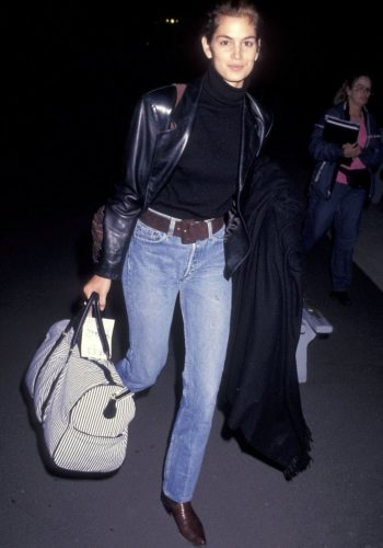 cindy-crawford-leather-blazer-1991